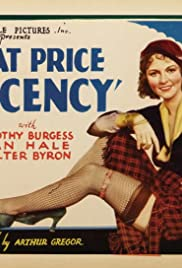 What Price Decency Poster