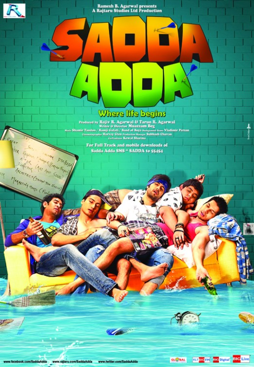Sadda Adda 2012 Hindi Movie JC WebRip 300mb 480p 1GB 720p 3GB 7GB 10GB 1080p