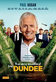 John Cleese, Chevy Chase, Olivia Newton-John, Paul Hogan, Shane Jacobson, and Jacob Elordi in The Very Excellent Mr. Dundee (2020)