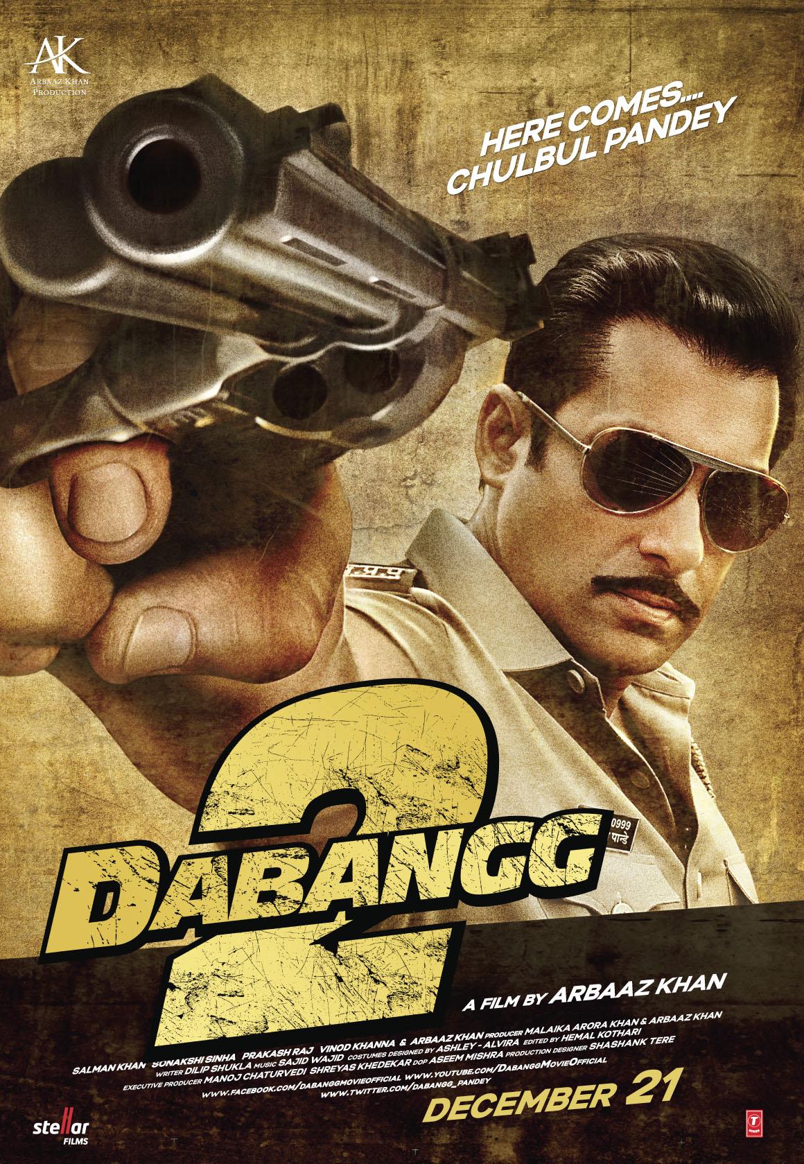 Download Dabangg 2 (2012) Hindi Full Movie BluRay 480p   720p