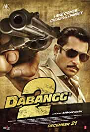 Dabangg 2 | 2012 | 700mb | Hindi | 720p | DVDRIP