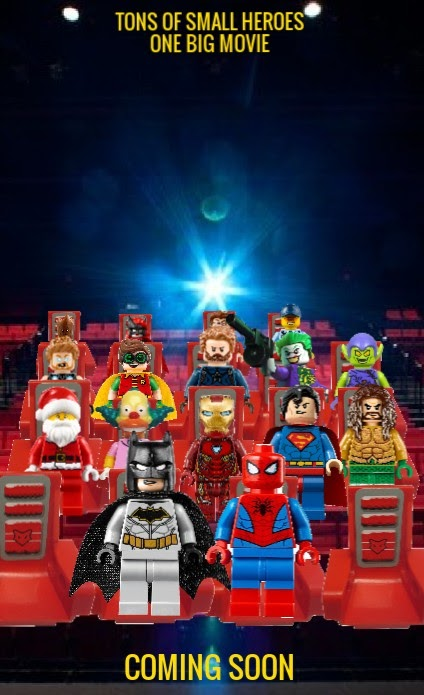 The Lego Batman And Spider Man Movie 2020