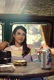 Emma Roberts, Gus Kenworthy, and Billie Lourd in American Horror Story (2011)