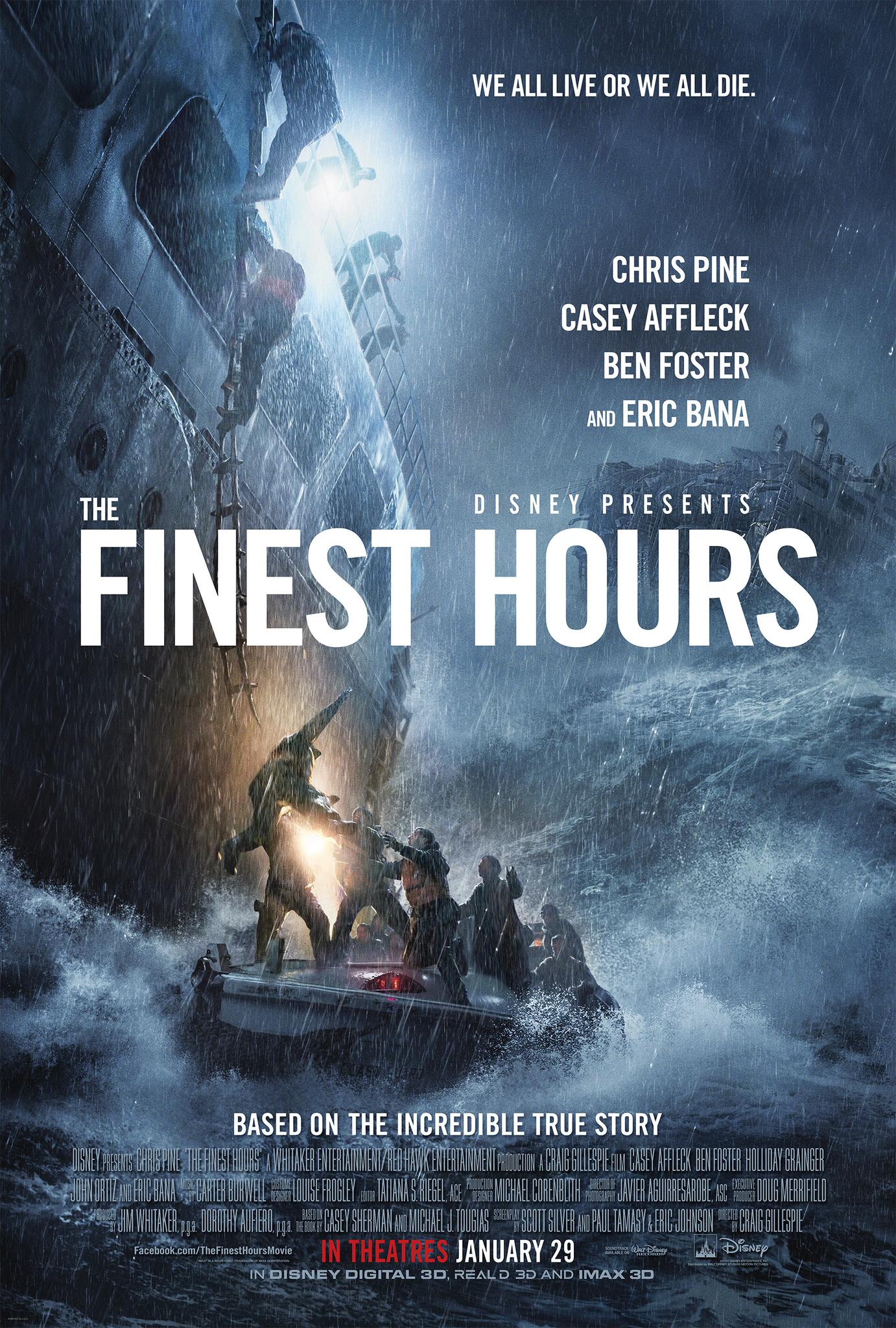 ดูหนังออนไลน์ The Finest Hours (2016)