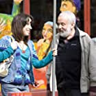 Mike Leigh and Sally Hawkins in Happy-Go-Lucky (2008)