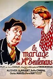 Le mariage de Mlle Beulemans Poster