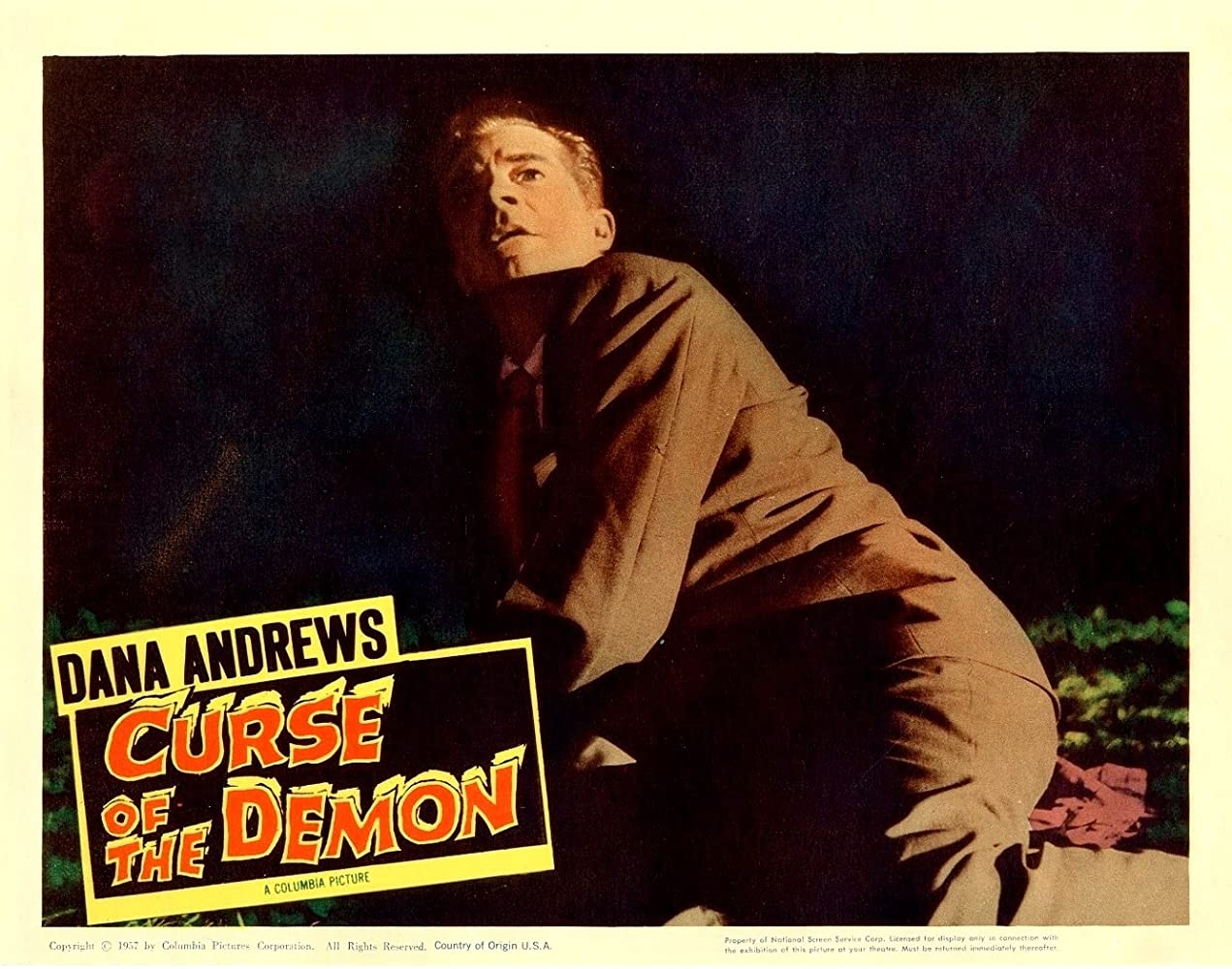 Dana Andrews in Night of the Demon (1957)