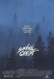 Survival Quest(1988) Poster - Movie Forum, Cast, Reviews