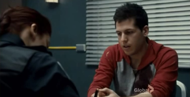 David Emanuel on Rookie Blue epispde 5X09- Moving Day