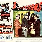 Ted de Corsia and Edmond O'Brien in Man in the Dark (1953)