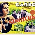 Greta Garbo, Melvyn Douglas, Felix Bressart, Ina Claire, Alexander Granach, and Sig Ruman in Ninotchka (1939)
