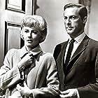Barbara Stanwyck and Lloyd Bochner in The Night Walker (1964)