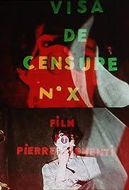 Visa de censure n°X Poster
