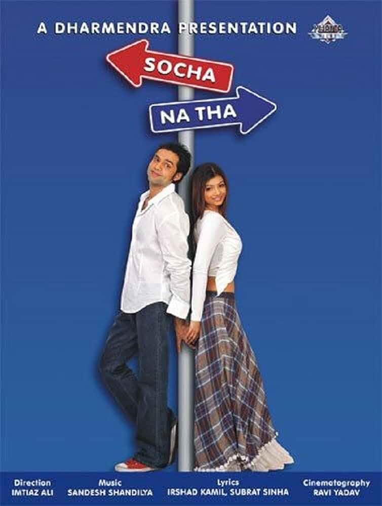 Socha Na Tha (2005) Hindi 720p 550MB Download Watch Full Movie