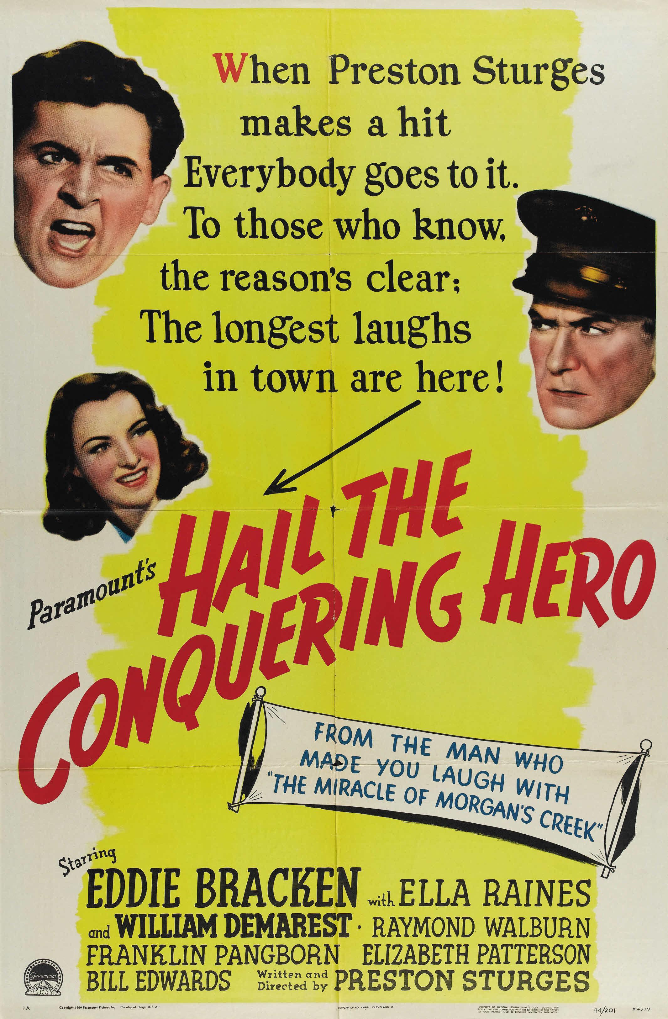 Hail the Conquering Hero (1944) - IMDb