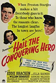 Hail the Conquering Hero Poster - Movie Forum, Cast, Reviews