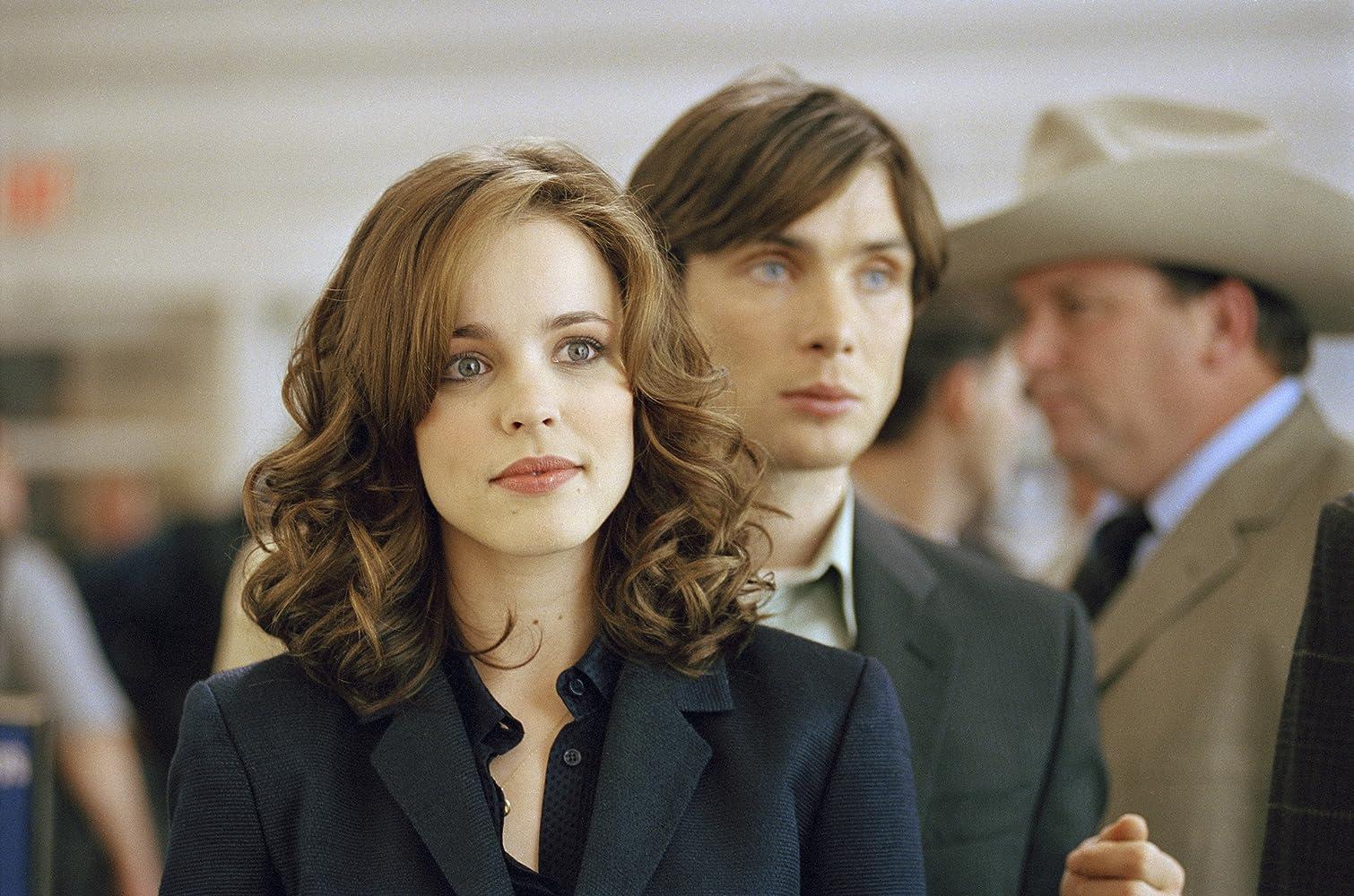 Cillian Murphy és Rachel McAdams a vörösszem-szemben (2005)