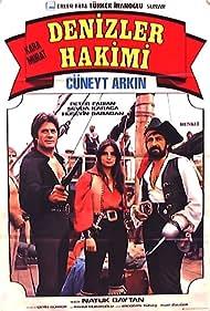 Cüneyt Arkin, Piero Fabiani, and Sevda Karaca in Kara Murat: Denizler Hakimi (1977)