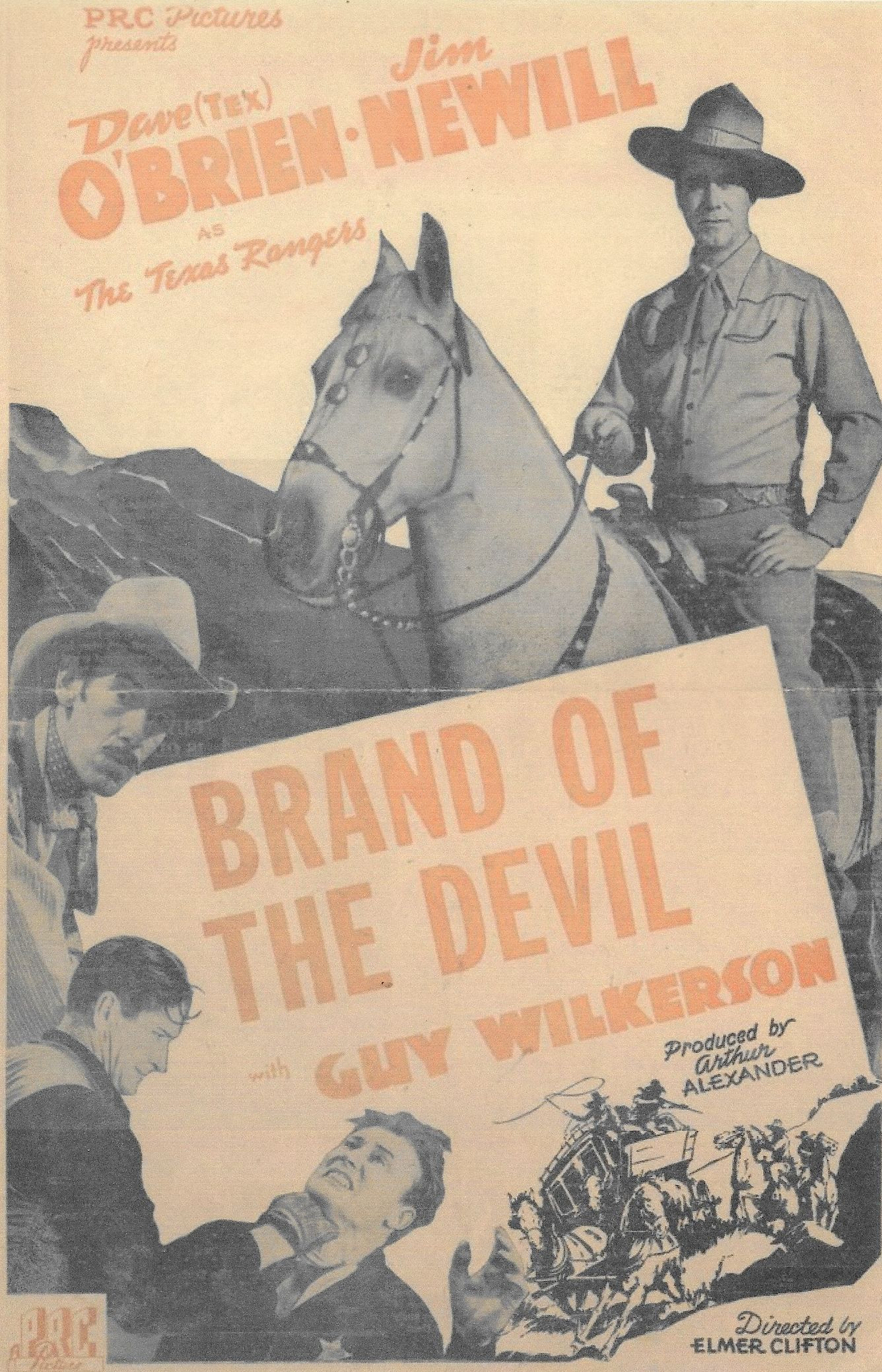 James Newill, Dave O'Brien, and Guy Wilkerson in Brand of the Devil (1944)