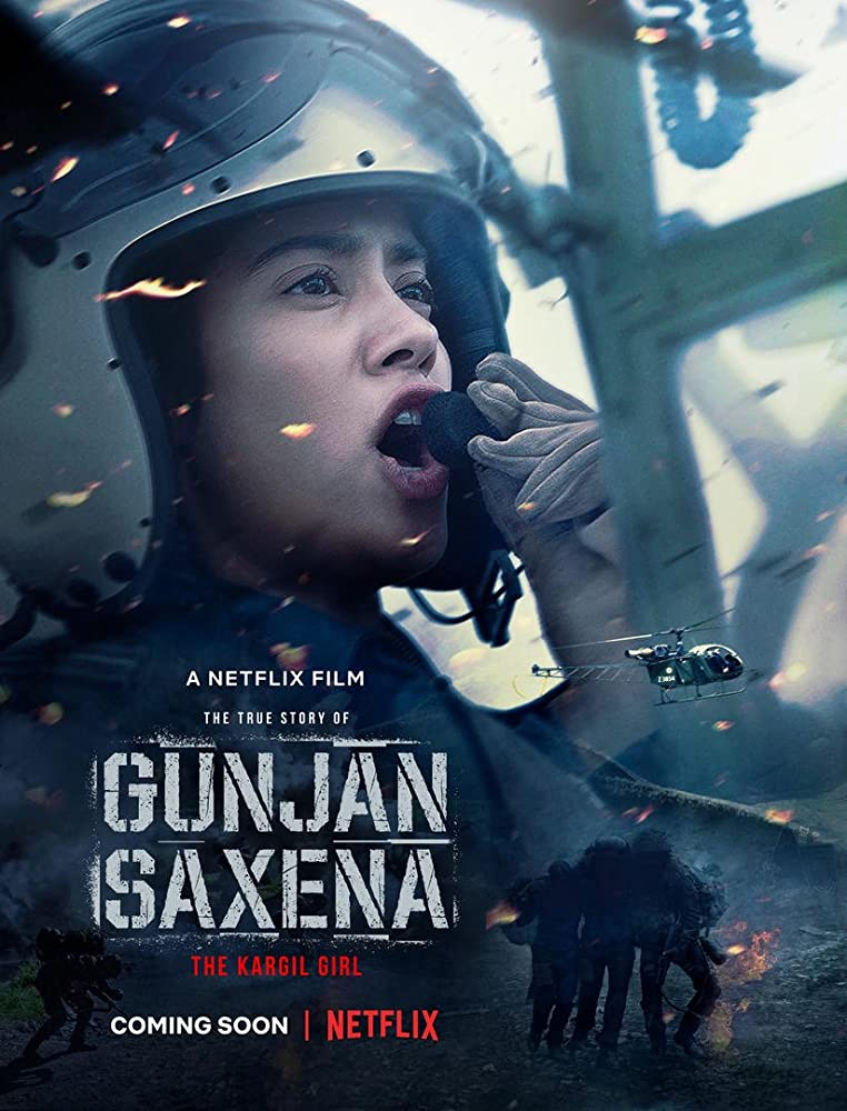 Gunjan Saxena: The Kargil Girl 2020 Hindi 355MB NF HDRip ESubs Download