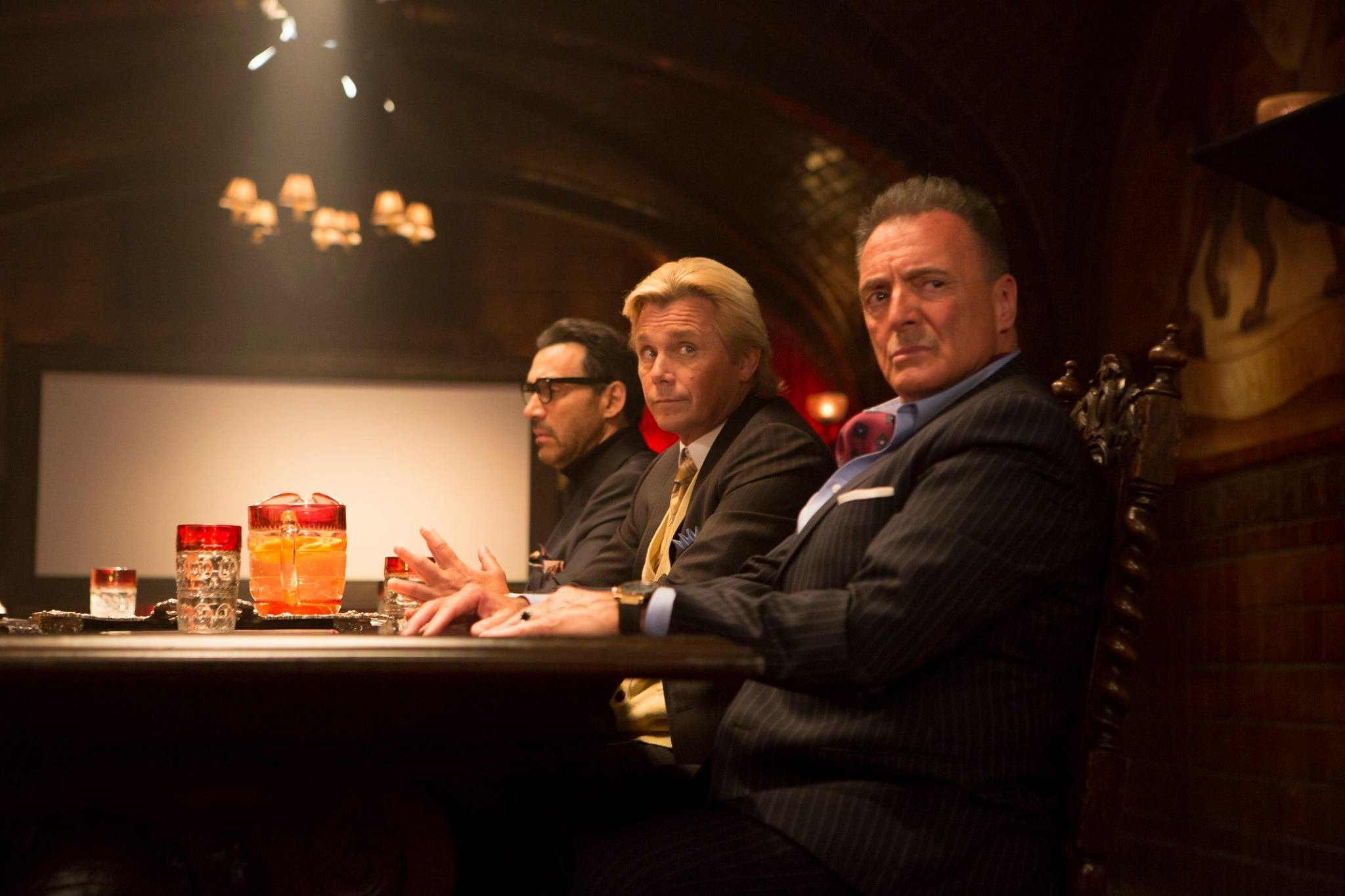 Adrian Paul, Christopher Atkins and Armand Assante in Kids vs Monsters (2015)