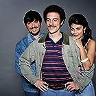 Elio Germano, Ricky Memphis, and Alessandra Mastronardi in L'ultima ruota del carro (2013)