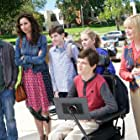 Minnie Driver, Dina Spybey-Waters, John Ross Bowie, Kyla Kenedy, Mason Cook, and Micah Fowler in Speechless (2016)