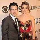 Jarrod Spector and Kelli Barrett at the 68th Annual Tony Awards