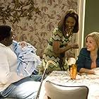 Angela Bassett, Antonique Smith, and Jamal Woolard in Notorious (2009)