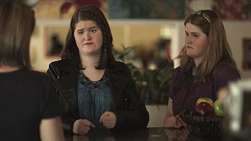 DEAF PERCEPTION: Signing is believing. Deaf twin sisters sign their way through ignorance and prejudice, discovering compassion in an unlikely corner of a local coffeehouse. (Written and directed by, and starring the deaf twin teens.)