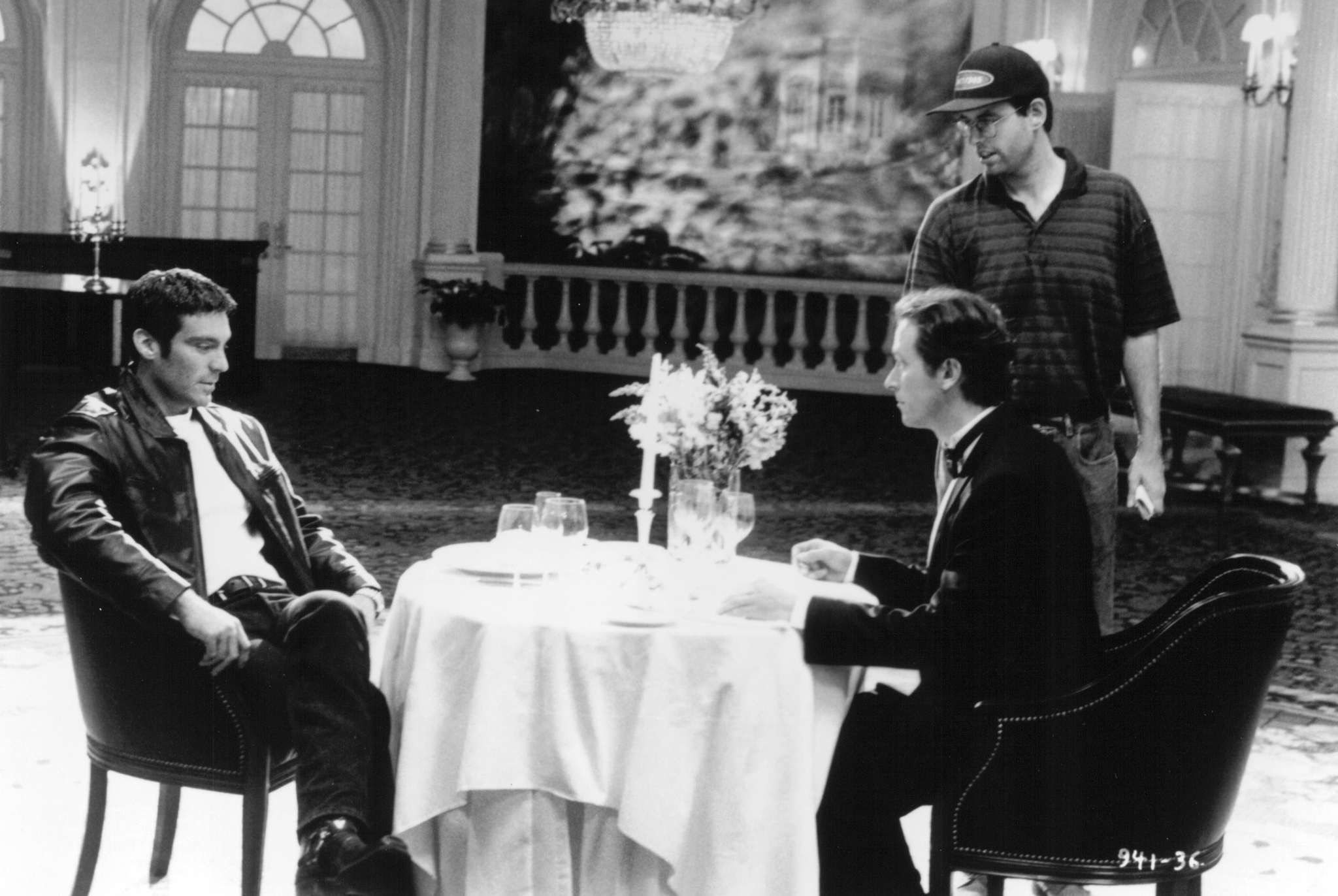 Steven Weber, Michael T. Weiss, and Christopher Ashley in Jeffrey (1995)