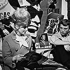 Catherine Deneuve and Johnny Hallyday in Les Parisiennes (1962)