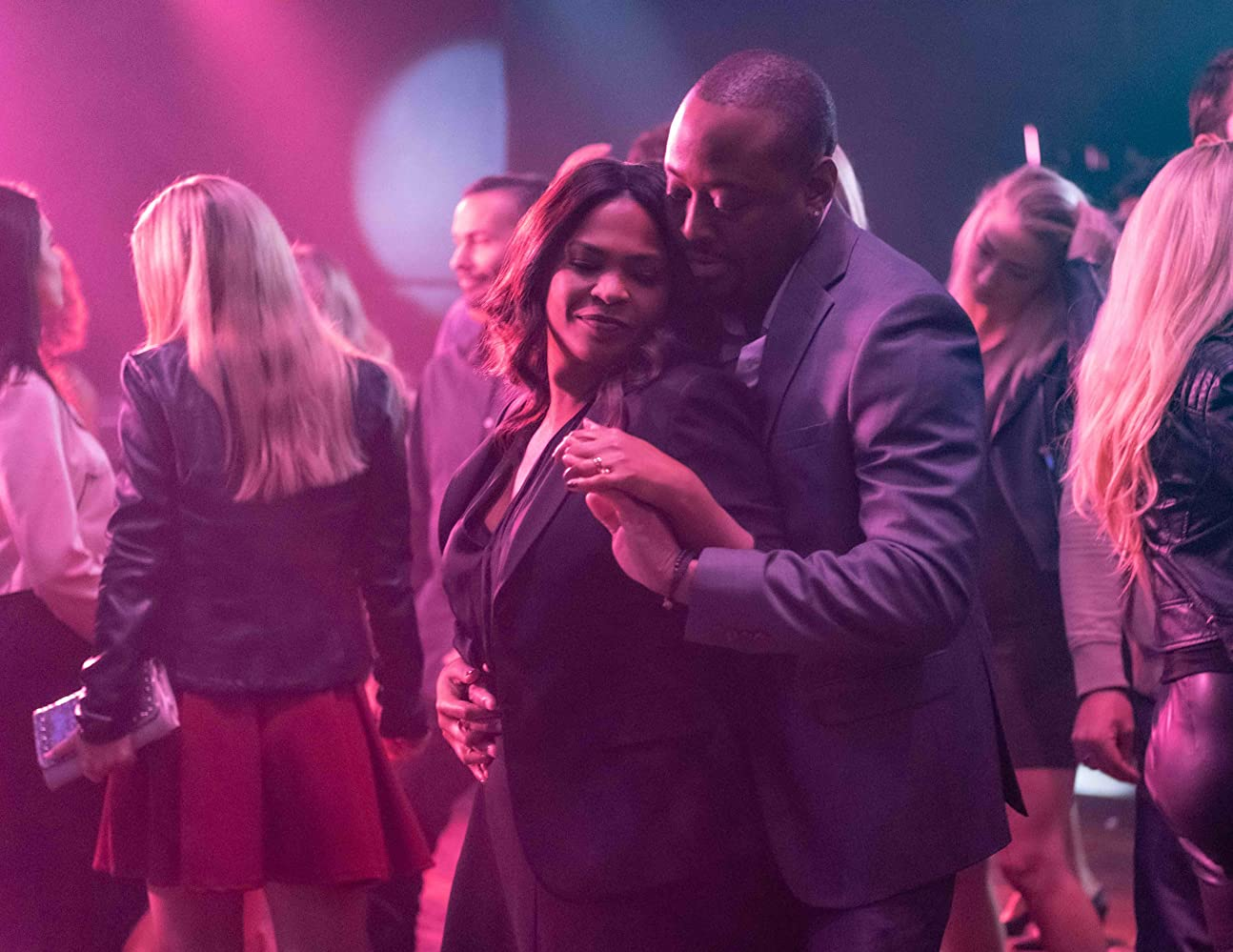 Nia Long and Omar Epps in Fatal Affair (2020)