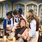 Nancy McKeon, Kim Fields, Mindy Cohn, Charlotte Rae, and Lisa Whelchel in The Facts of Life (1979)