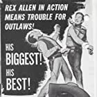 Rex Allen and Mary Ellen Kay in Thunder in God's Country (1951)