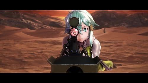 Sword Art Online: Fatal Bullet: Release Date Trailer