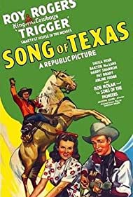 Roy Rogers, Sheila Ryan, and Trigger in Song of Texas (1943)