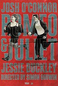 Jessie Buckley and Josh O'Connor in Romeo & Juliet (2021)
