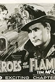 Tim McCoy and Marion Shockley in Heroes of the Flames (1931)