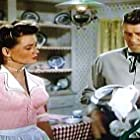 Ronald Reagan and Dorothy Malone in Law and Order (1953)