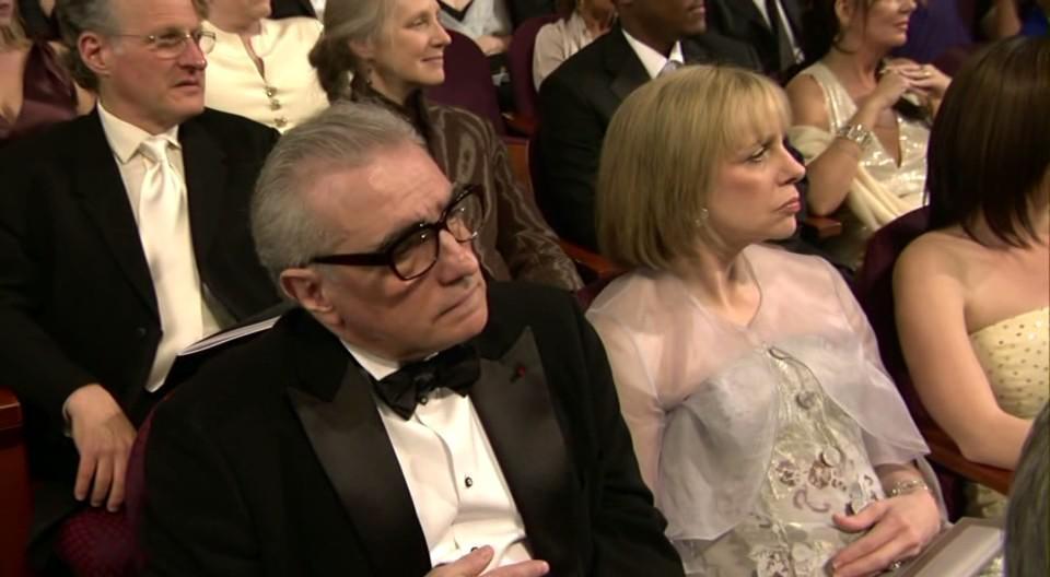 Martin Scorsese, Michael Mann, Helen Morris Scorsese, and Summer Mann in The 77th Annual Academy Awards (2005)