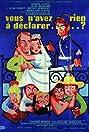 Vous n'avez rien à déclarer? (1959) Poster