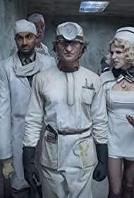 Neil Patrick Harris, John DeSantis, Lucy Punch, Jacqueline Robbins, Joyce Robbins, and Usman Ally in A Series of Unfortunate Events (2017)