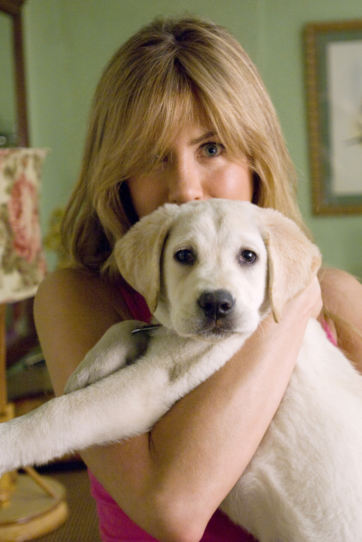 Jennifer Aniston and Jonah in Marley & Me (2008)