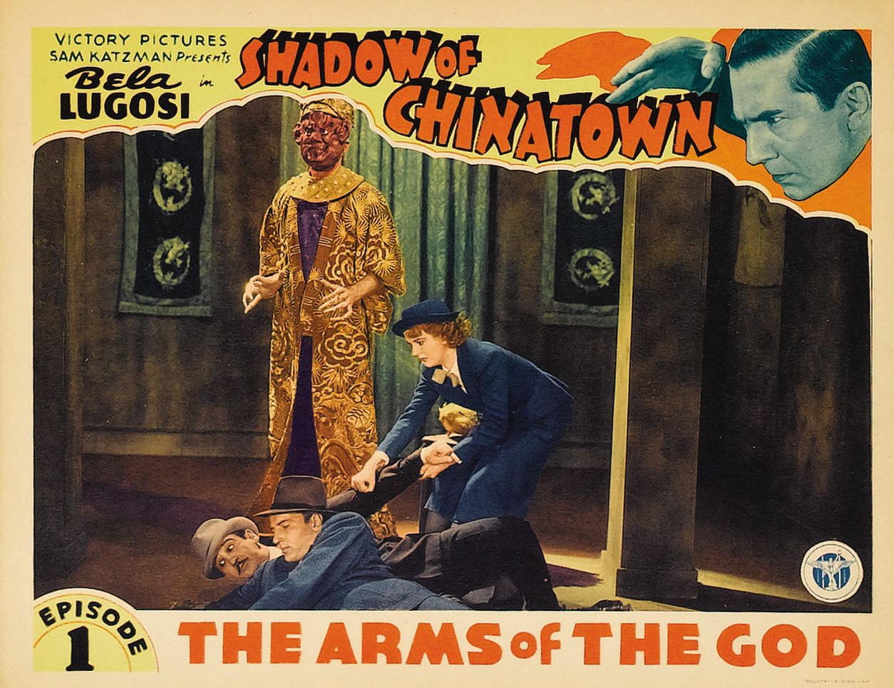Bela Lugosi, Joan Barclay, Bruce Bennett, and Charles King in Shadow of Chinatown (1936)