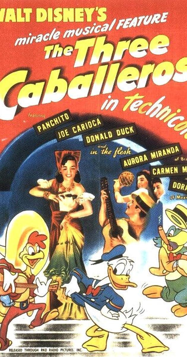 Subtitle of The Three Caballeros