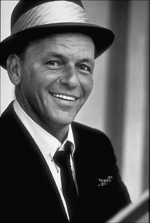 Frank Sinatra at a recording session / June, 1964