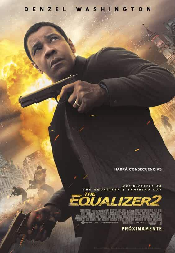 The Equalizer 2 (2018) English 720p | 480p WEB-DL x264 950MB | 400MB