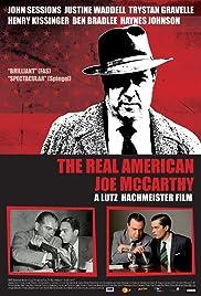 The Real American: Joe McCarthy Poster