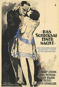 Jean Bradin, Harry Liedtke, Erna Morena, Erich Schönfelder, Stefan Zweig, and J. Fenneker in Das Schicksal einer Nacht (1927)
